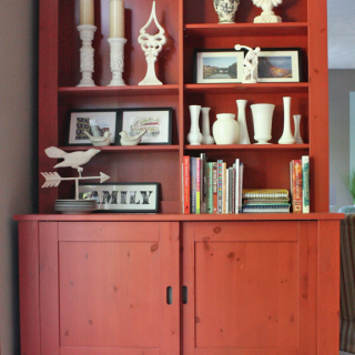 The red hutch.