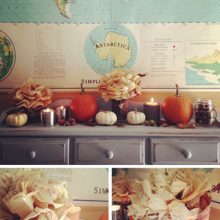 Fall Decor at 86lemons.com