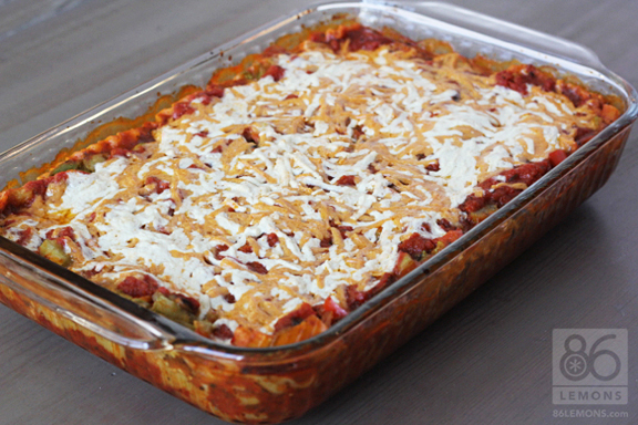 Vegan Lasagna from OSG  86lemons.com