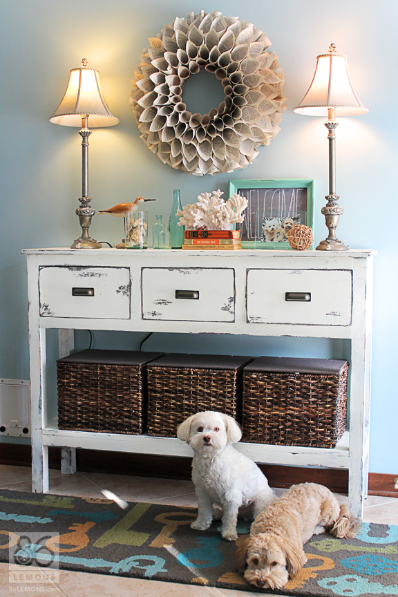 Fall Decorating Ideas Entryway Table Decor Entry Way Sofa Table ...