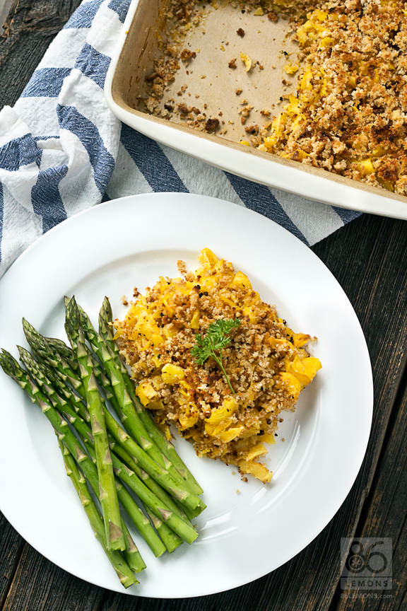 Baked Macaroni & Cheese #vegan #glutenfree #healthy 86lemons.com
