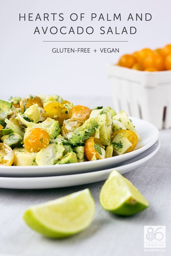 Hearts of Palm and Avocado Salad #vegan #glutenfree #salad #recipe ...