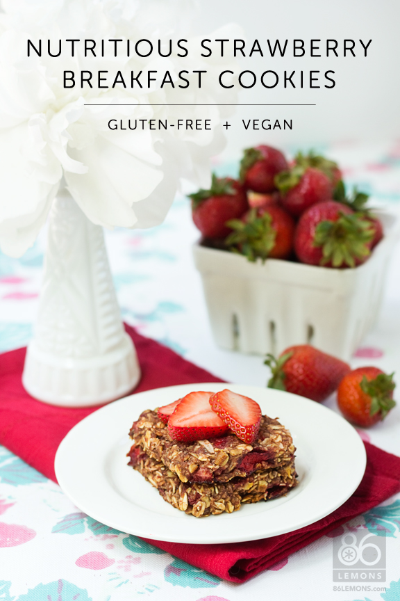 delicious, healthy, hearty #breakfast #cookies  (#vegan, #glutenfree)