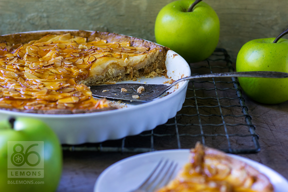 Apple Tart #vegan #glutenfree #dessert #recipe #fallfood #healthy