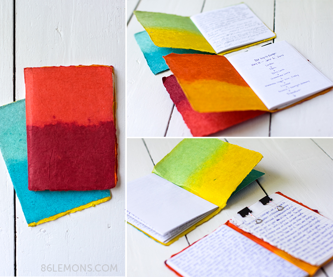 DIY Travel Journal #diy #travel #handmade #journal